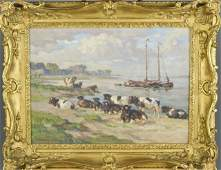 August Lüdecke-Cleve (German, 1868-1957)