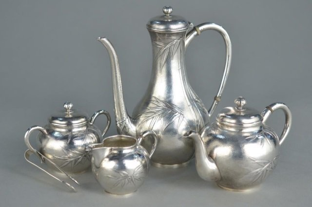 Japanese Silver Coffee Service
