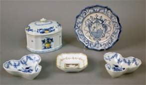Miscellaneous Group of Ceramic Decorations