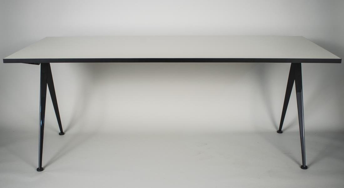 Étonnant Jean Prouve Compas Table by Vitra - Jun 28, 2014 | Capo Auction in NY IW-75