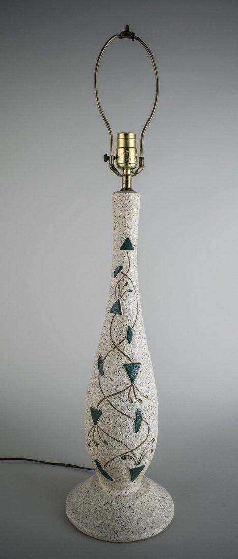 E Bertolozzi Mid Century Modern Lamp