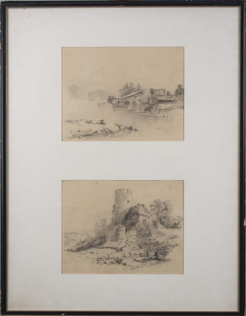 Two 19th Century Drawings