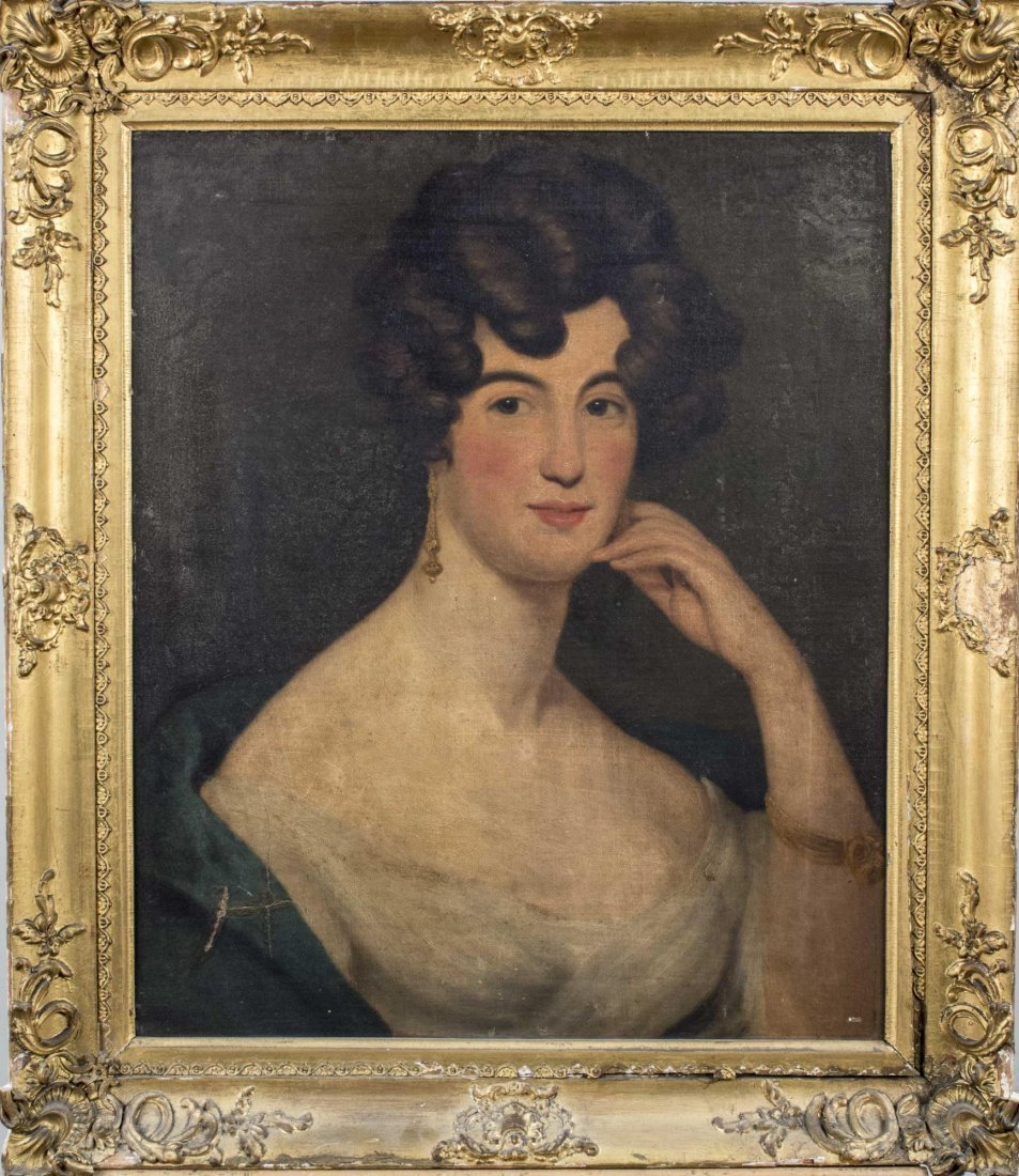 Continental School, Portrait of a Lady