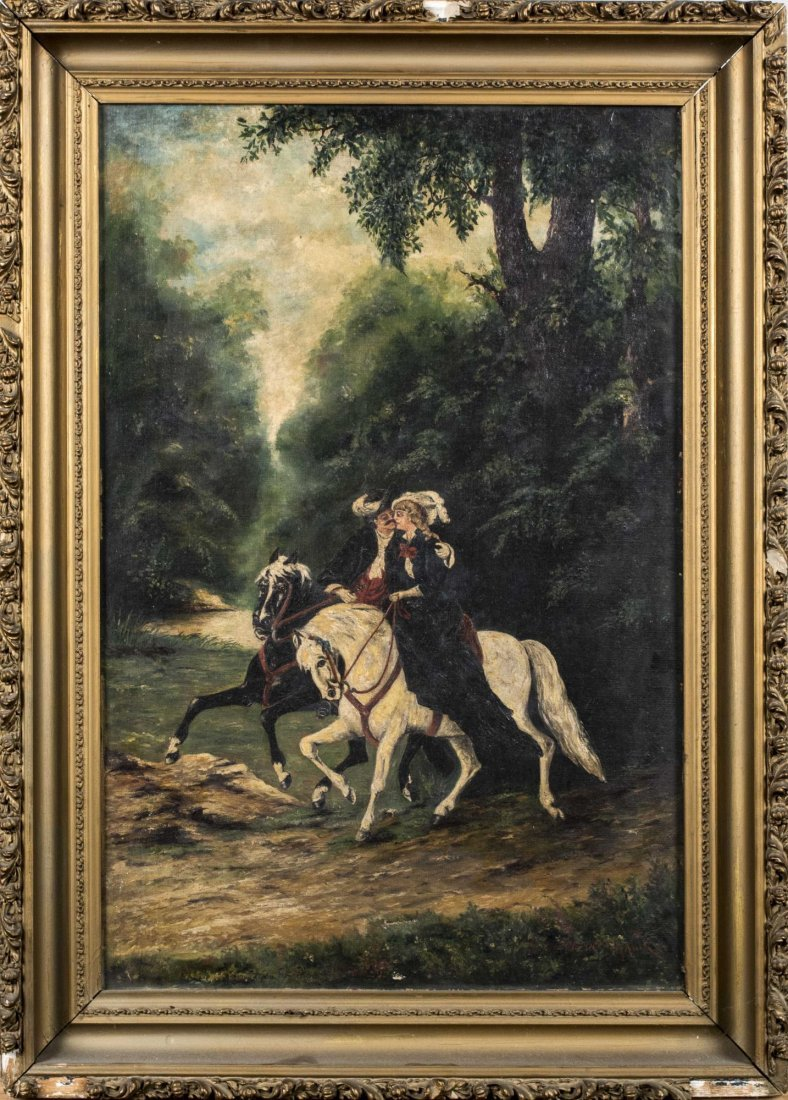 Eugene T. Malik Oil Painting