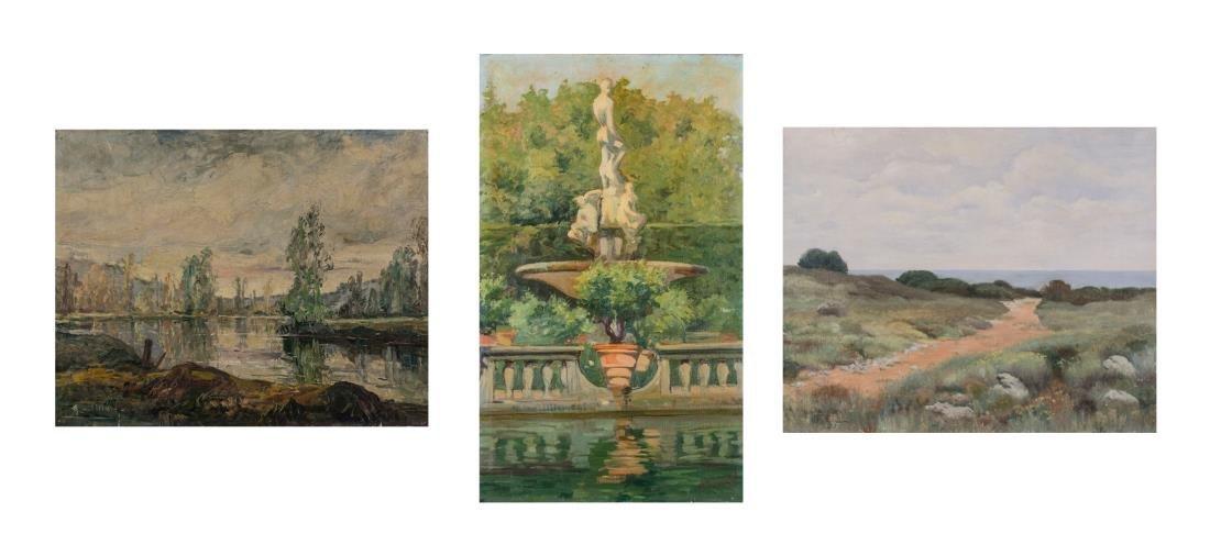 Three 19th Century French School Paintings