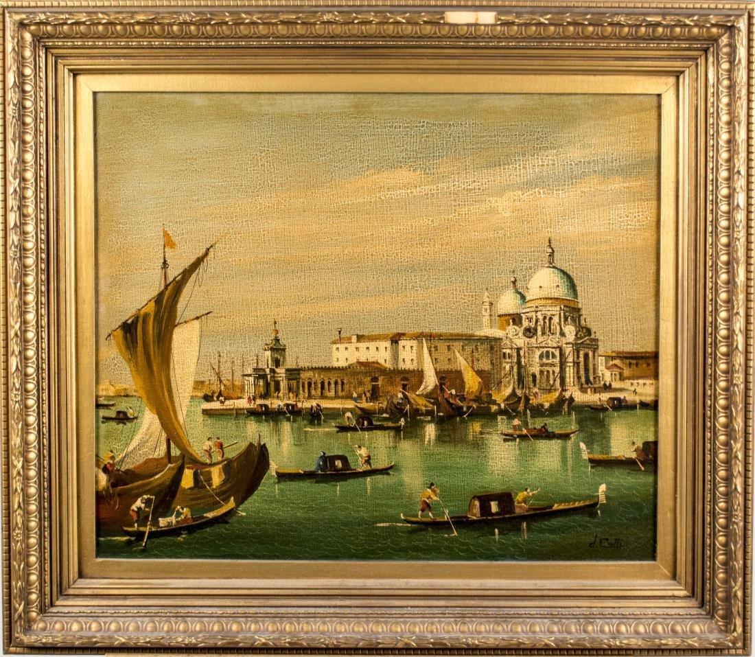 Italian School, Painting of Venice