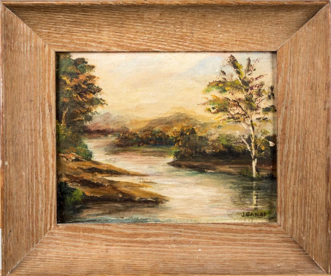 J. Ganer, Oil Landscape