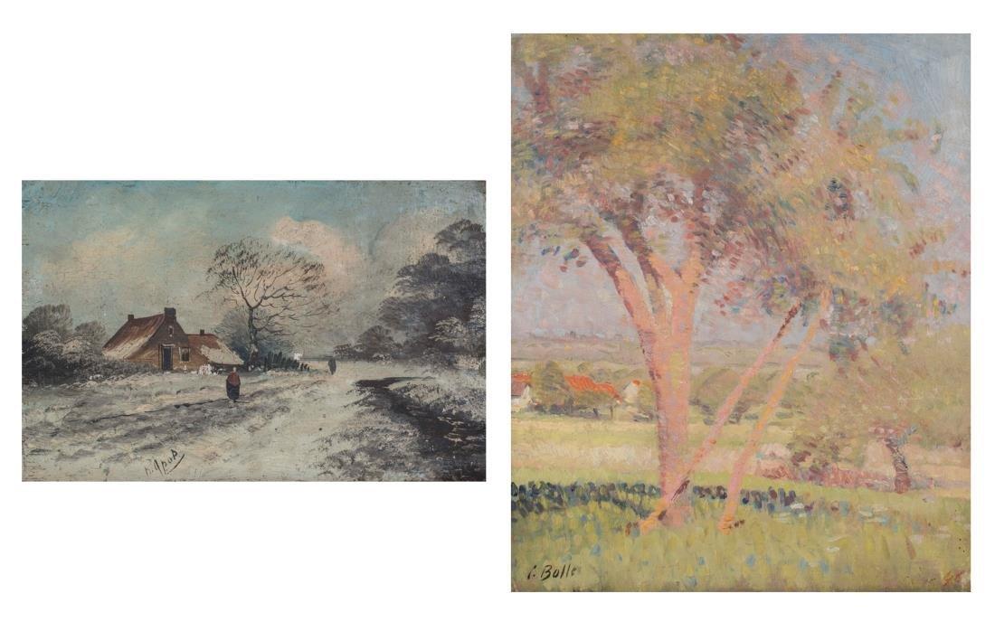 Pair of Continental School Paintings
