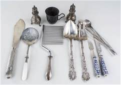 Group of Sterling Silver Flatware Articles