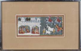 Mewar School Indian Painting