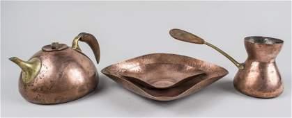 Karl Hagenauer Austrian Copper & Brass Tea Kettle