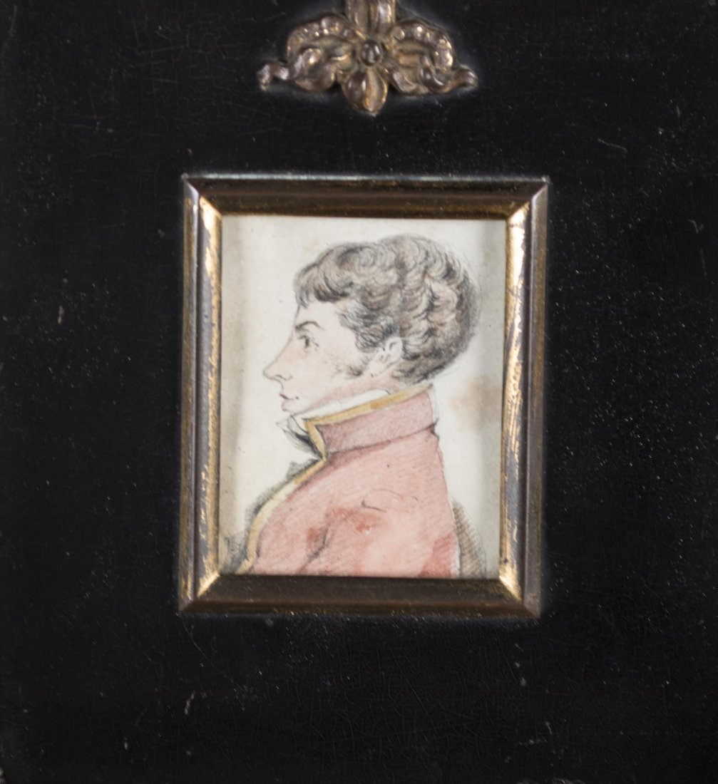 Three 19th Century Diminutive English Watercolors - 2