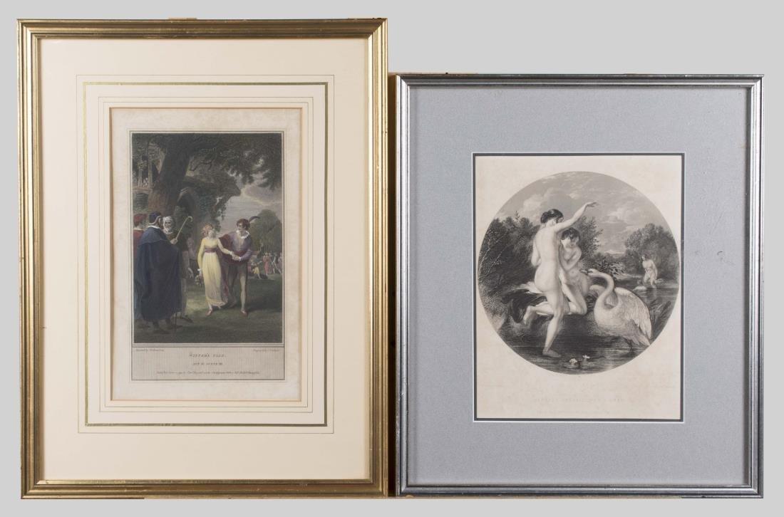 Pair of 19 Century Engravings