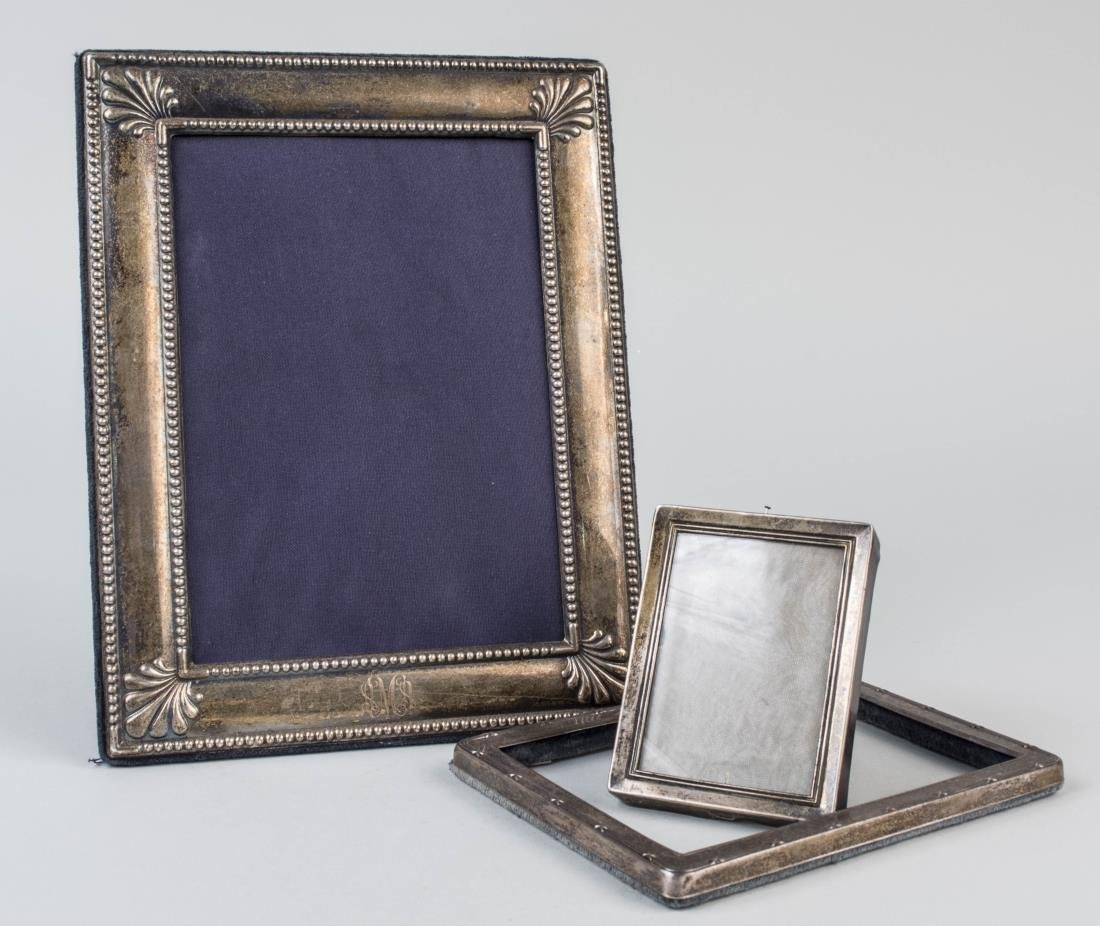 Three Silver Picture Frame