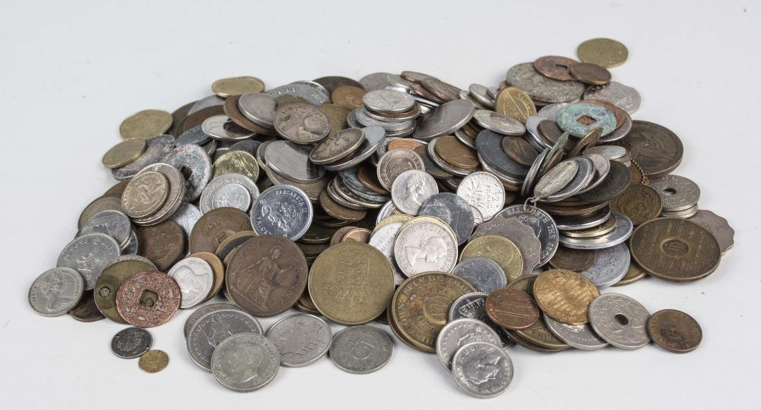 Miscellaneous Group of Coins