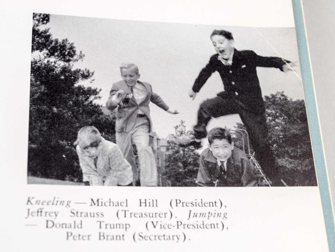 Two Donald Trump Kew-Forest School Yearbooks - 4