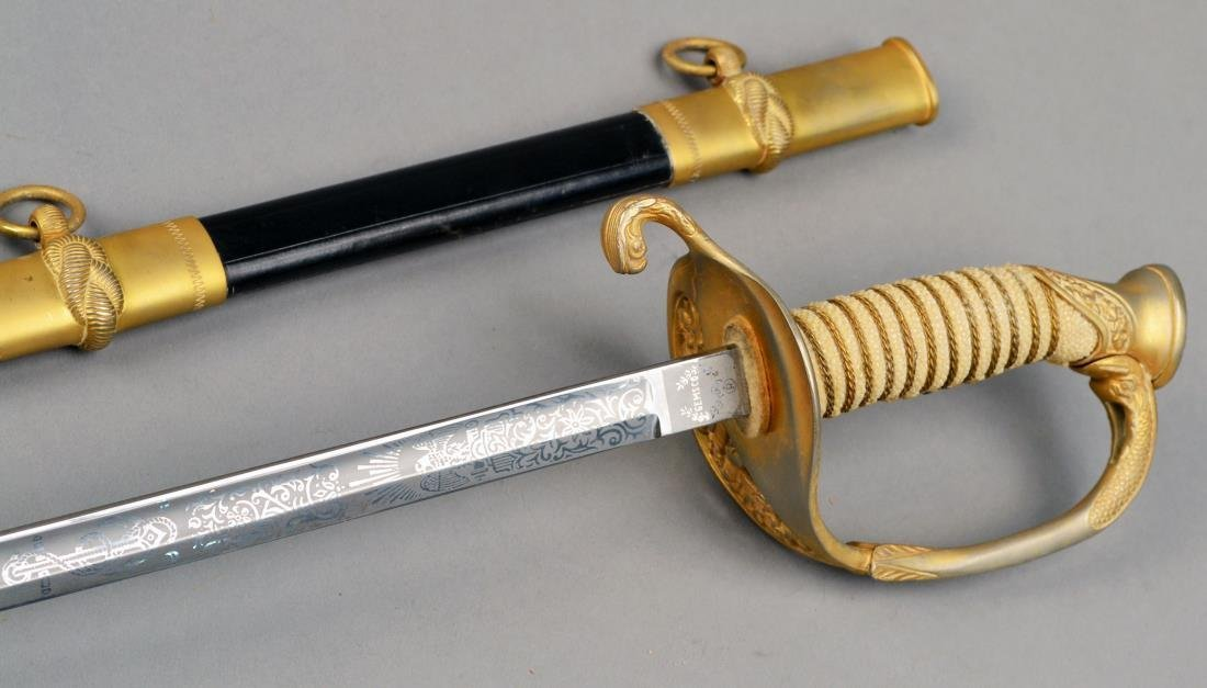 U.S. Navy Ceremonial Sword - 3