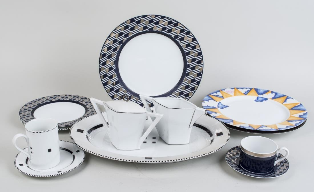 Swid Powell Porcelain Assembled Dinner Service