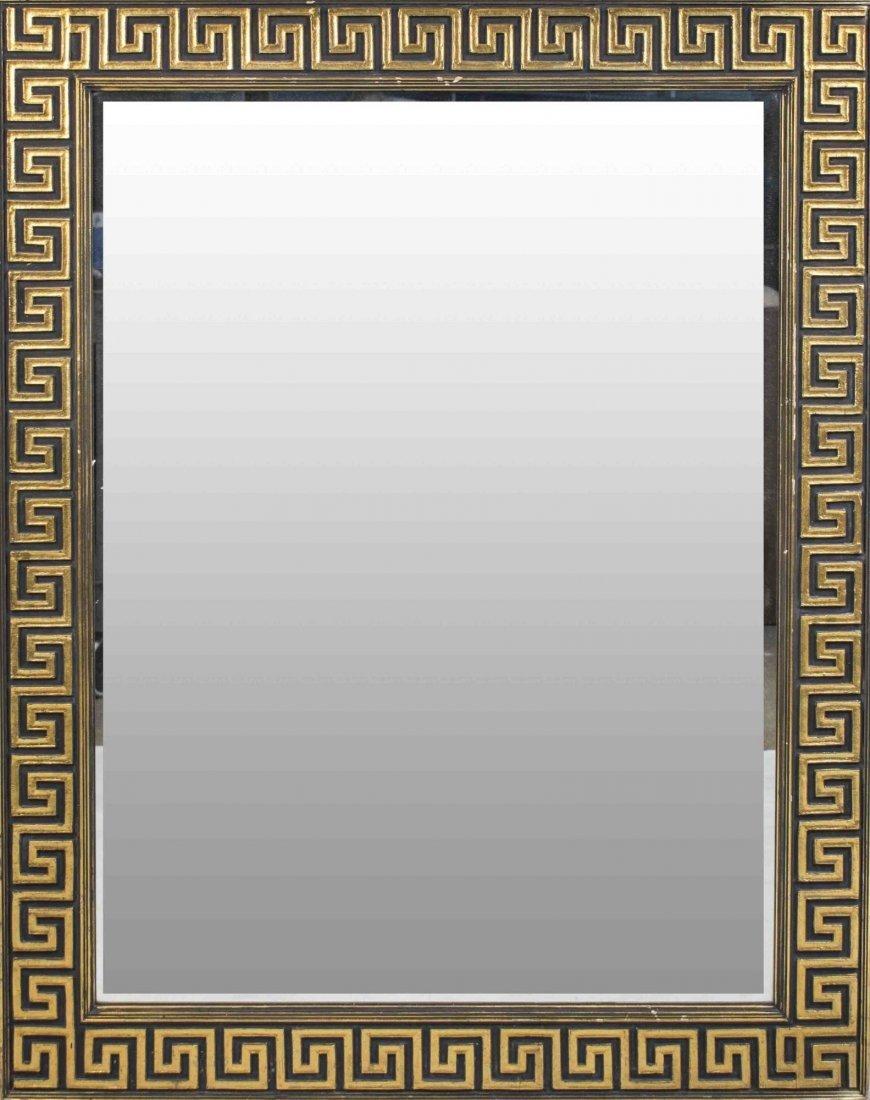 Versace Style Gilt Wood Mirror