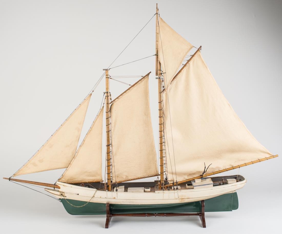 Model of a Schooner