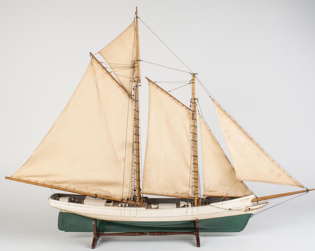 Model of a Schooner - 2