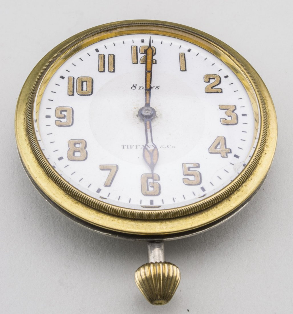 Tiffany & Co. Eight Day Travel Clock - 3