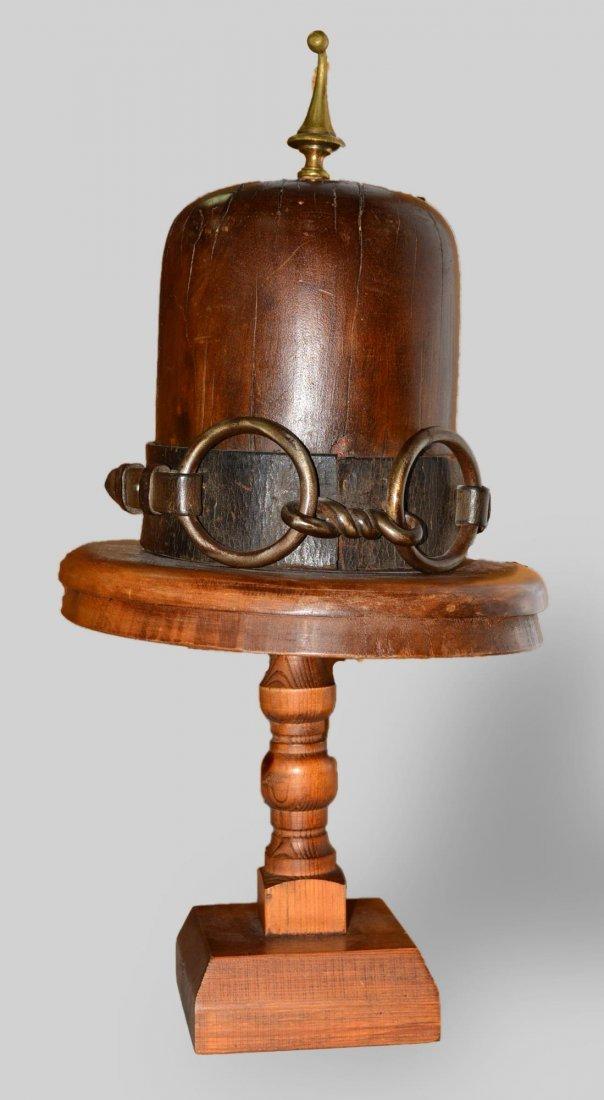 Vintage Wood Hat Form