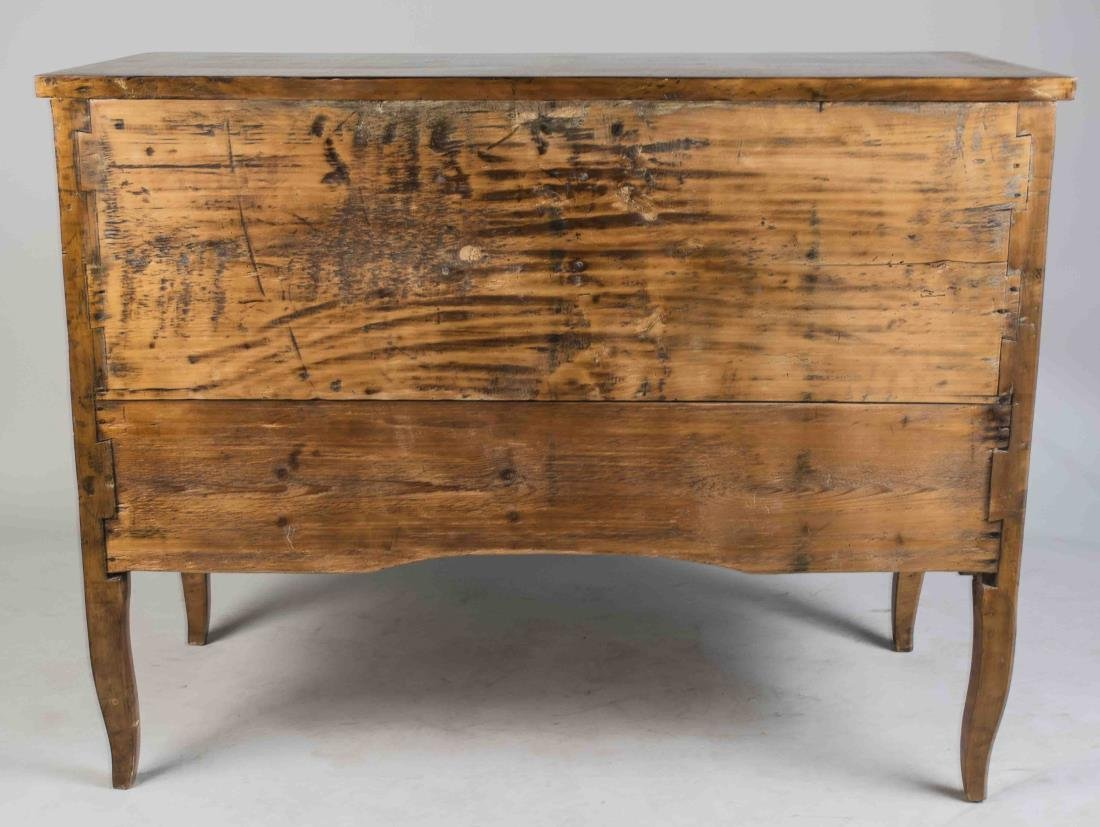 Italian Marquetry Commode - 4