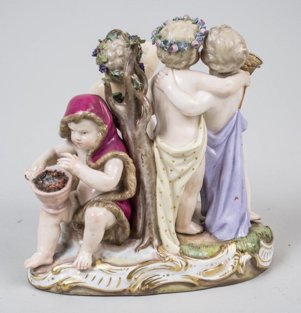 Meissen Porcelain Figure Group - 2