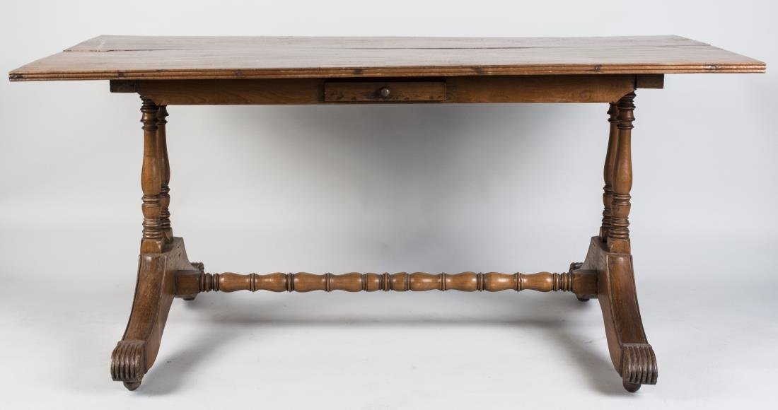 Provincial Fruitwood Harvest Table
