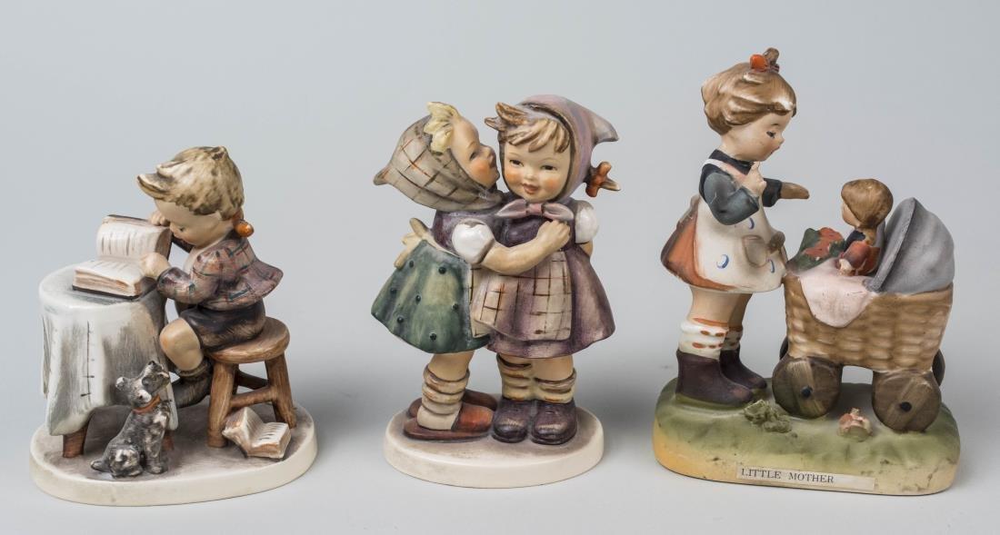 Three Hummel Figures
