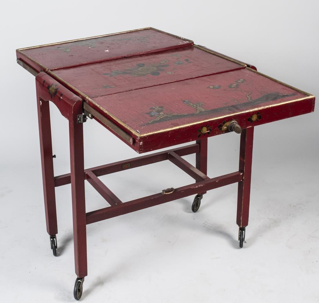 Asian Folding Table / Etagere - 2