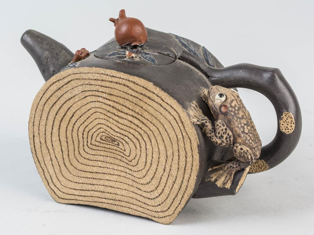 Chinese Ceramic Teapot - 2
