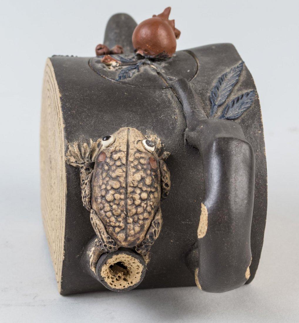 Chinese Ceramic Teapot - 3