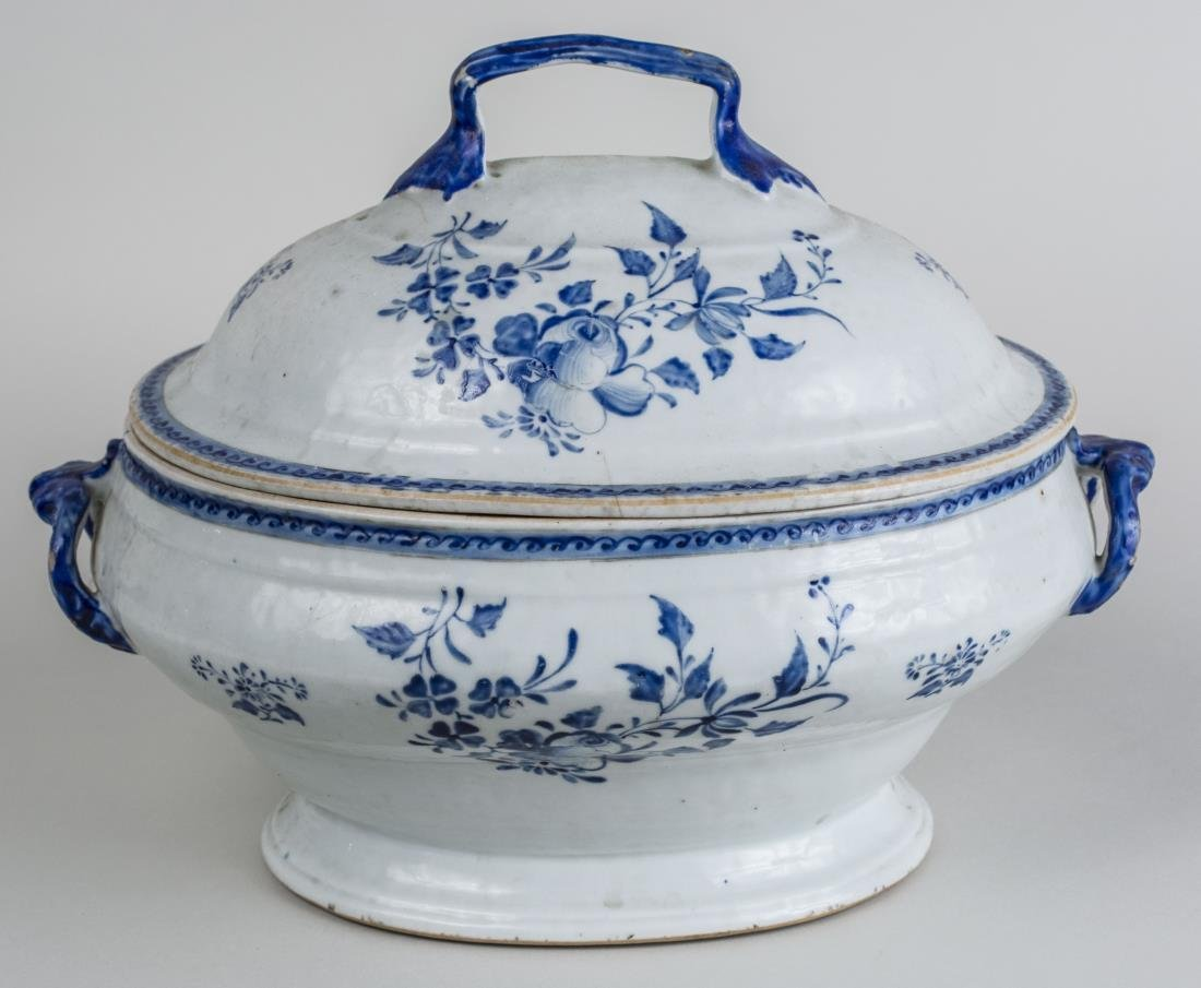 Chinese Porcelain Tureen and Cover