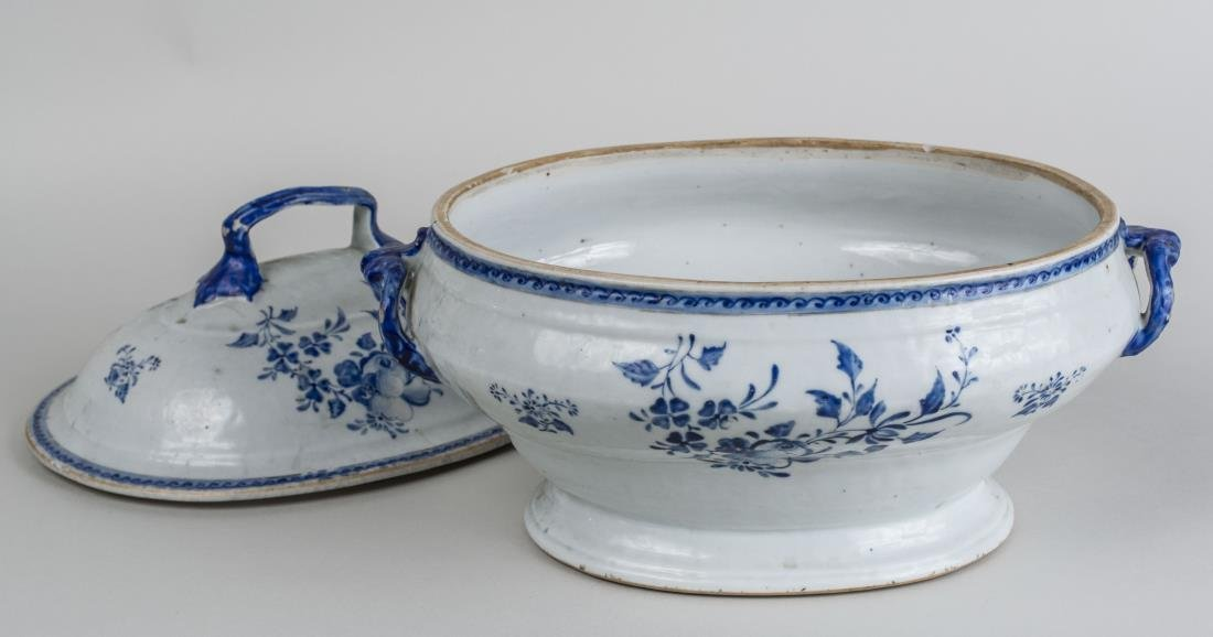 Chinese Porcelain Tureen and Cover - 2