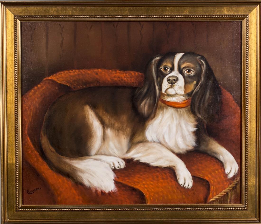 Pair of Contemporary Dog Portraits - 2
