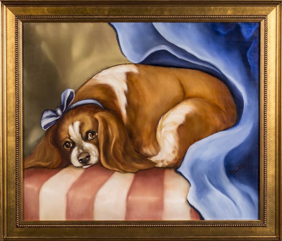 Pair of Contemporary Dog Portraits - 3