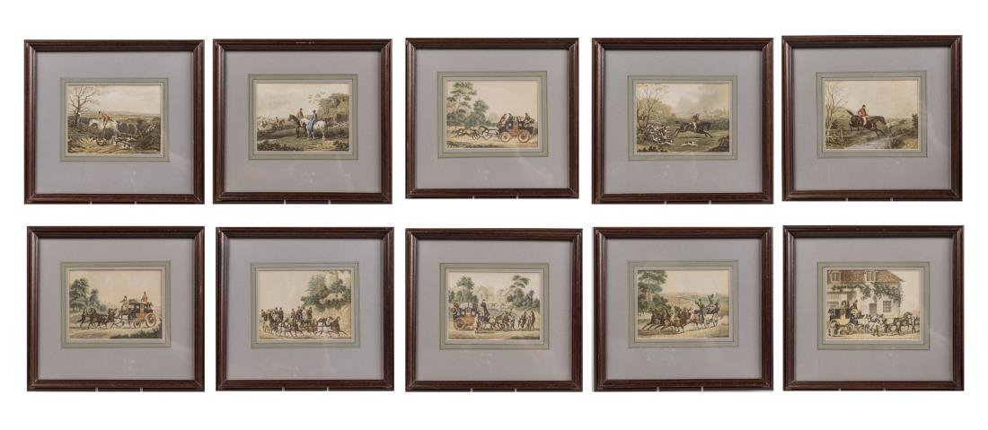 Set of Ten Sporting Prints