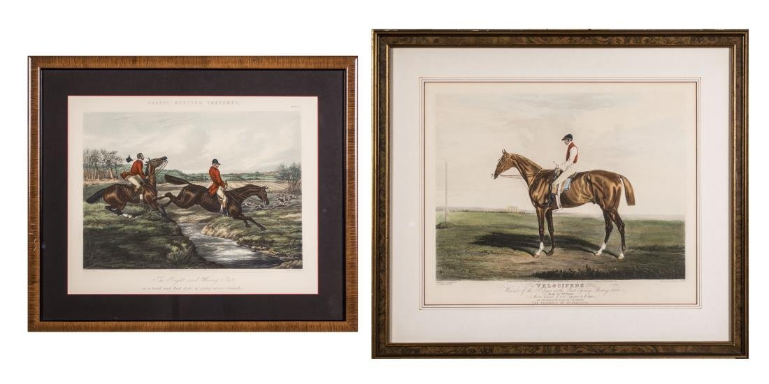 Pair of Equestrian Prints