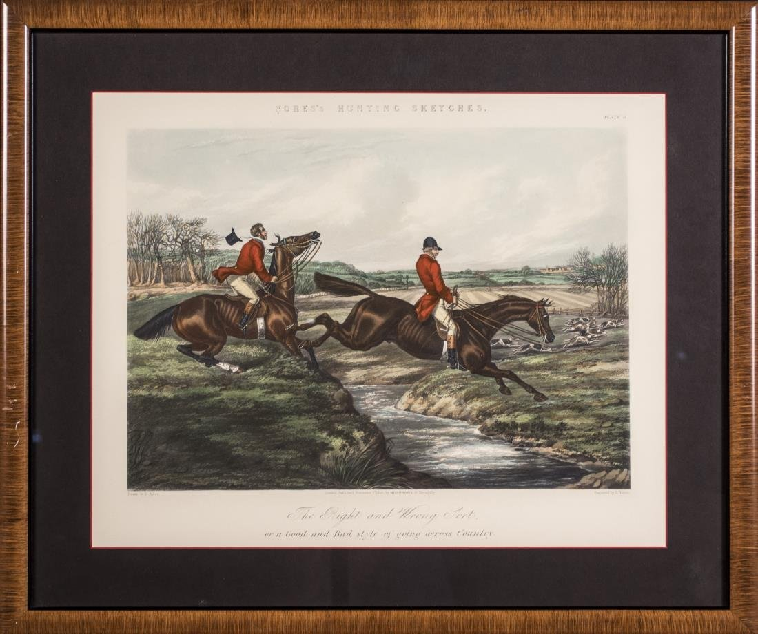 Pair of Equestrian Prints - 3