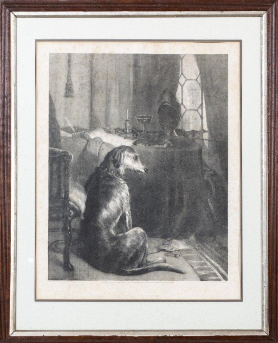 Pair of Vintage Dog Prints - 2