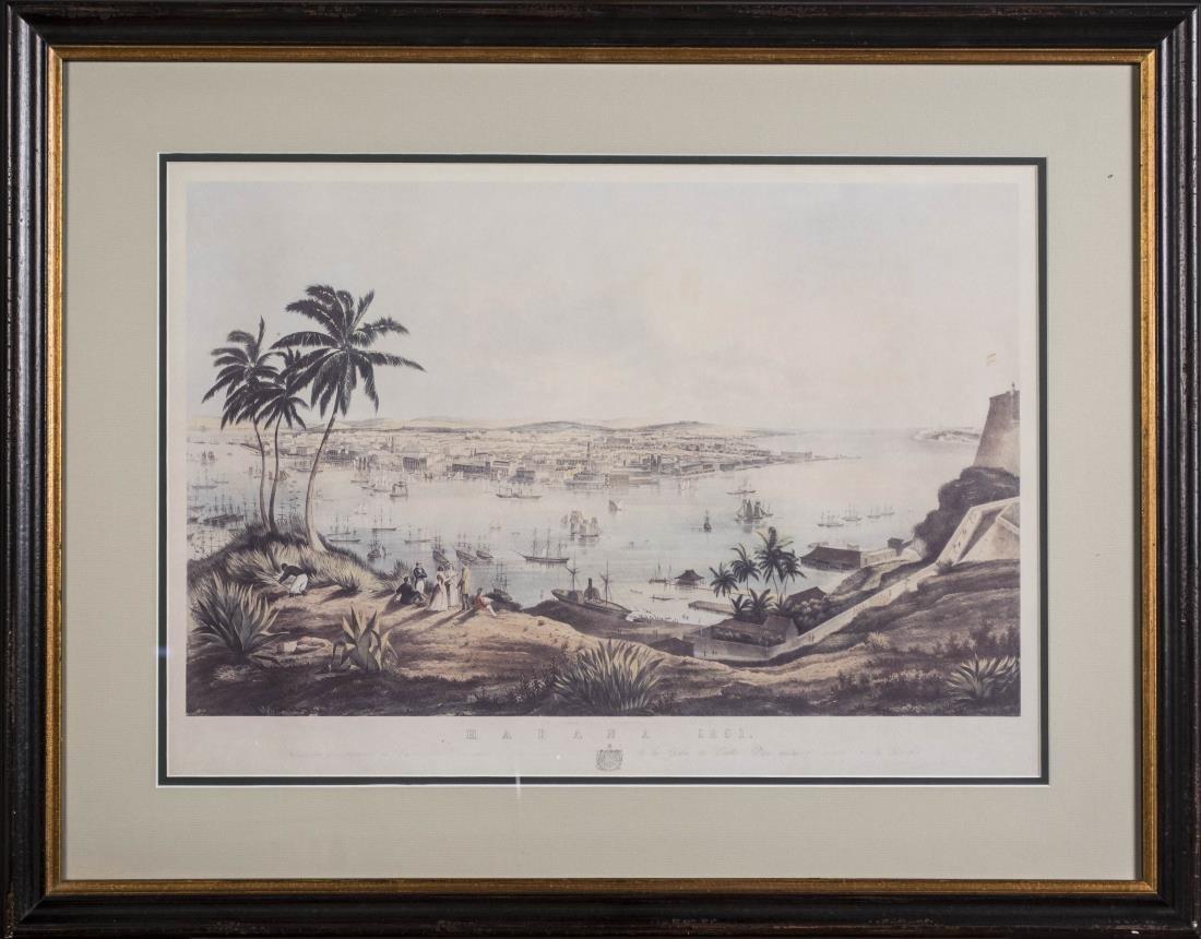 Print of Havana Cuba