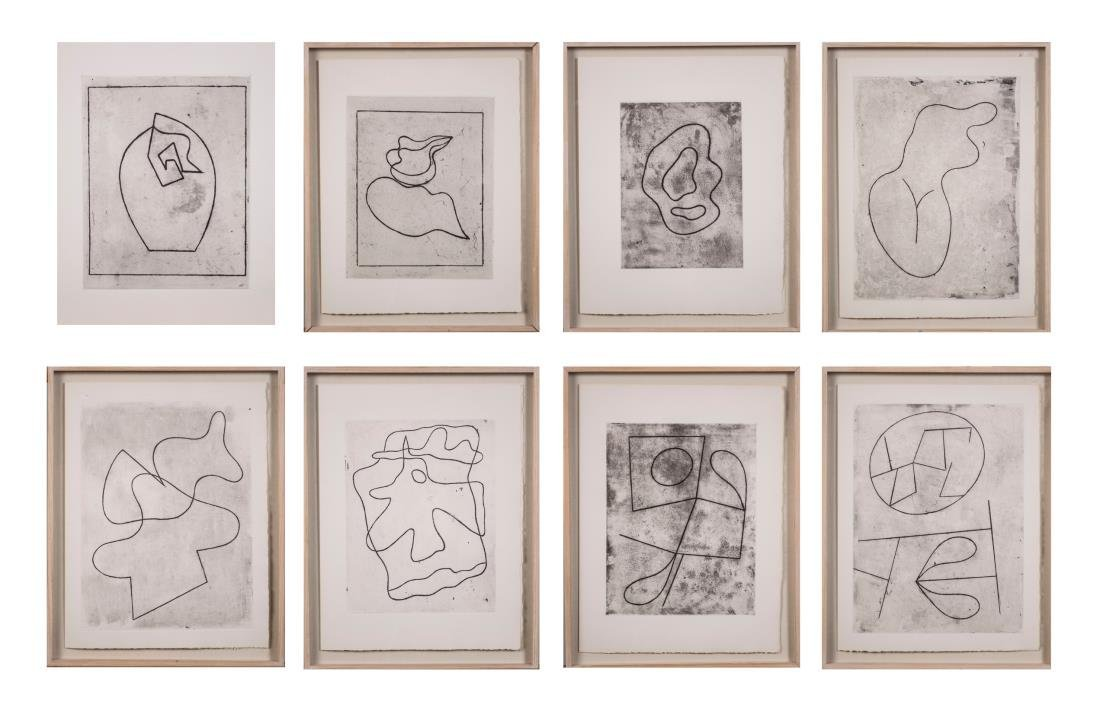 Group of Eight Prints by Jean Arp - 9