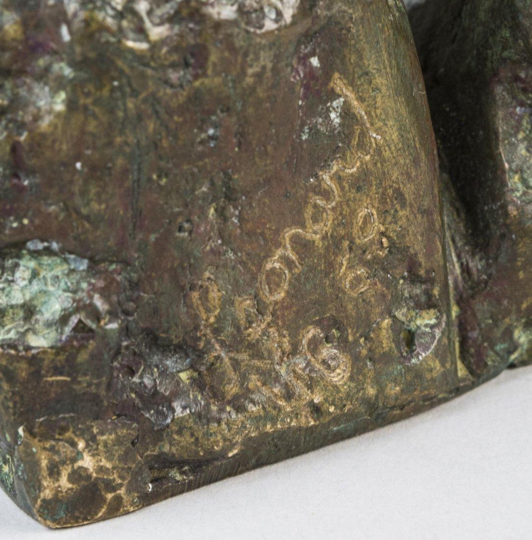 Mid-Century Bronze, Signed Leonard - 3