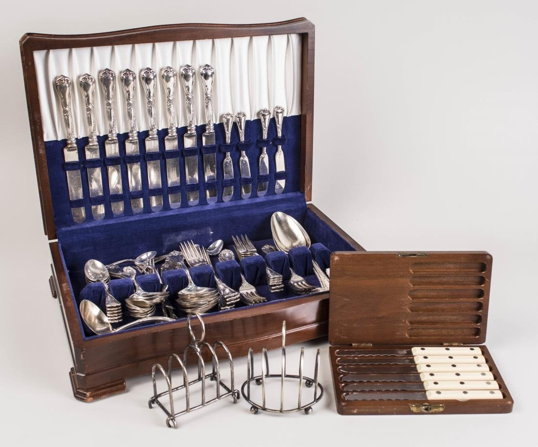 Reed and Barton Silver Plated Flatware