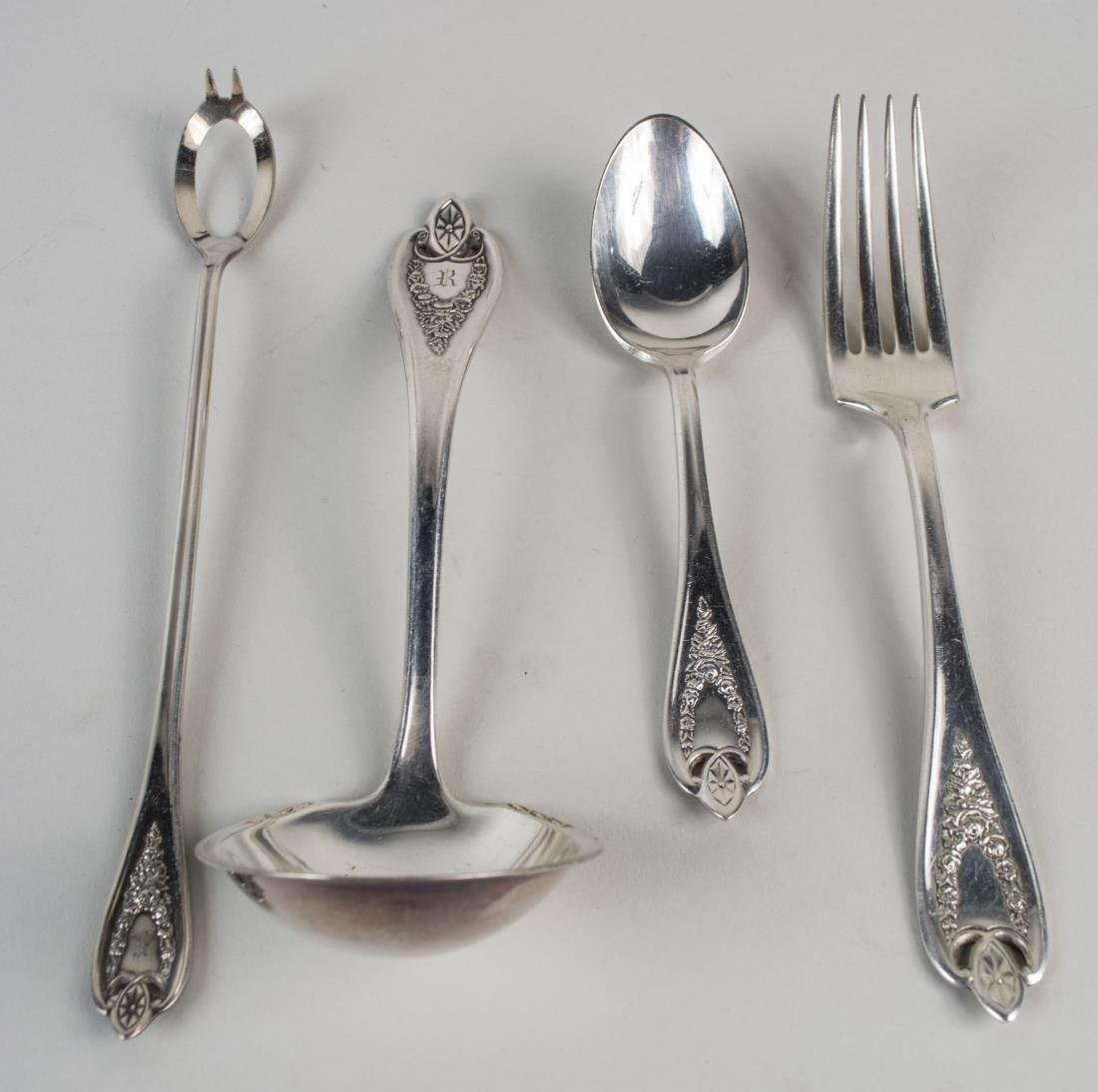 Rogers Bros. Silver Plated Flatware Service