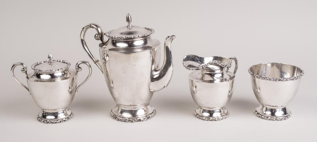 Mexican Sterling Silver Coffee Set
