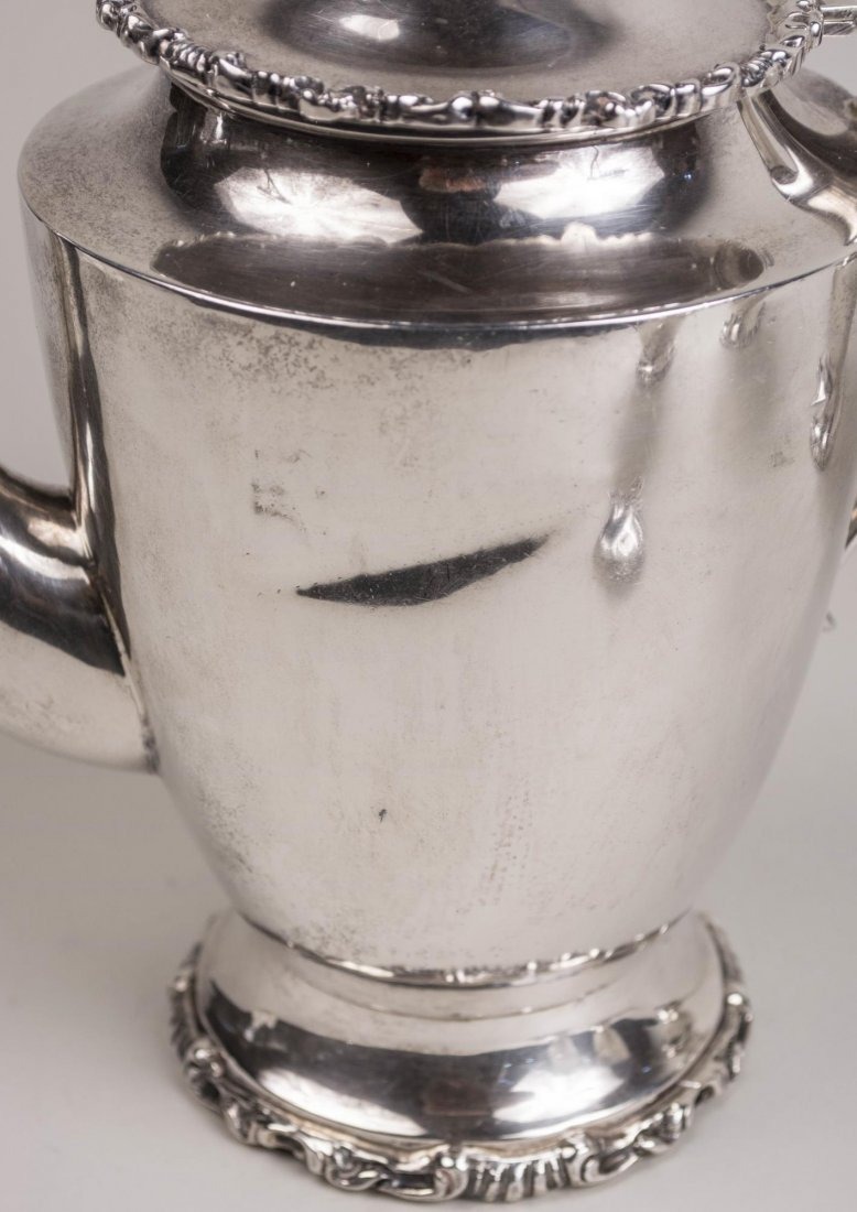 Mexican Sterling Silver Coffee Set - 3