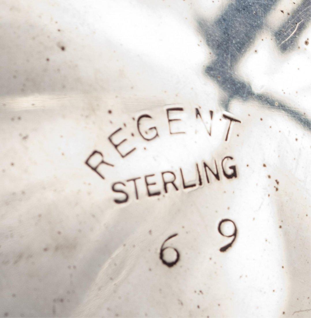 Regent Sterling Silver Creamer and Sugar Set - 2